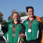 Eanna and Natalya WC1 USA silver medallists