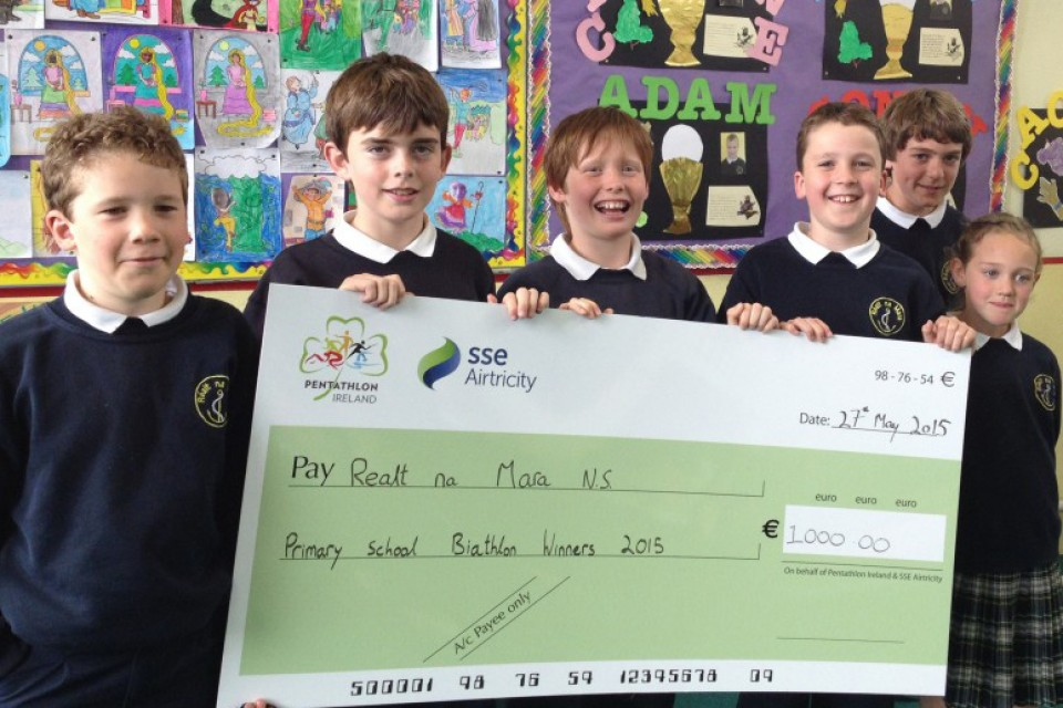 SSE Airtricity National Schools Modern Biathlon Winners 2015