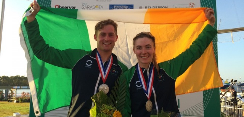 IRELAND STORM TO SILVER IN SARATOSA