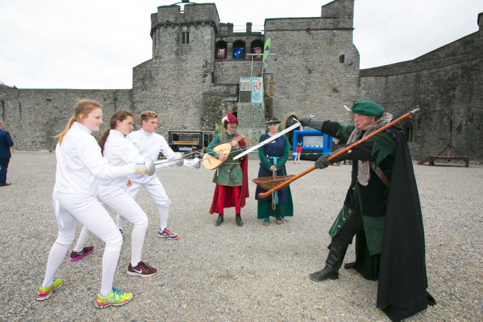 Opening Ceremony Launch at King John's Castle