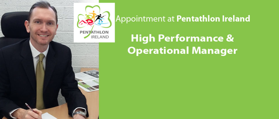 New Appointment at Pentathlon Ireland