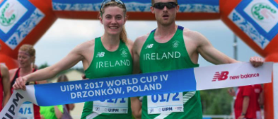 Coyle and Lanigan O'Keeffe Claim Gold at World Cup #4