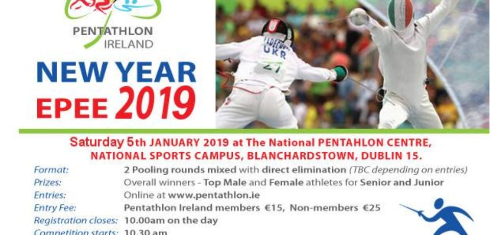 New Year Epee 2019 Competition – Entries Now Open
