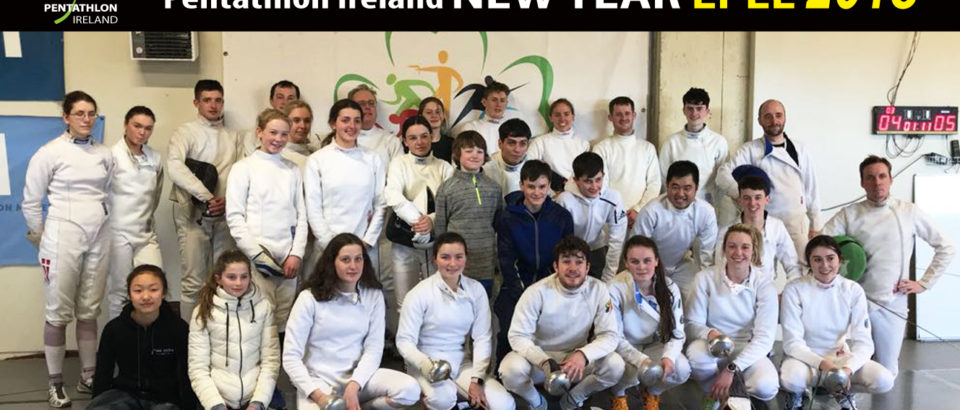 Record Numbers at PI – New Year Epee Competition
