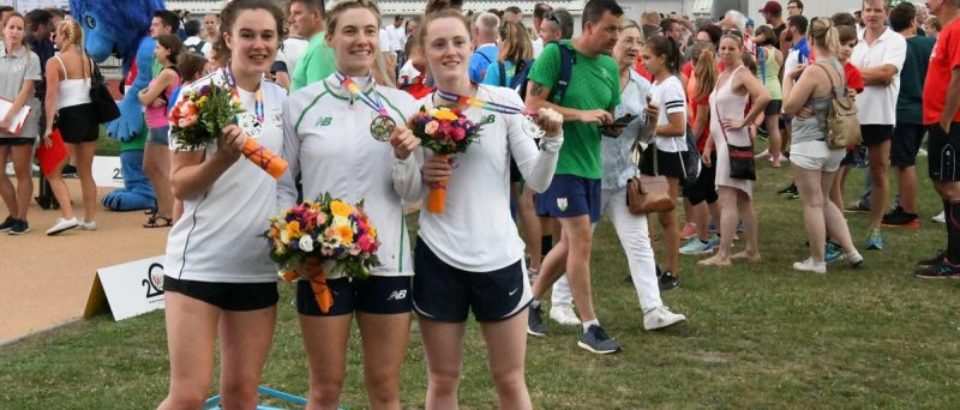Team silver for Irish women at European Championships as Natalya Coyle finishes 5th