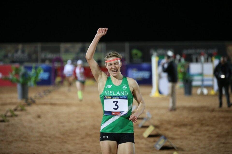 Pentathlon Ireland congratulates Natalya Coyle on Tokyo 2020 selection