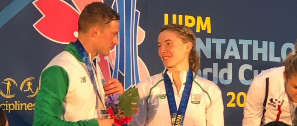 Silver medallists Coyle and Lanigan-O'Keeffe end Pentathlon World Cup Final on a high