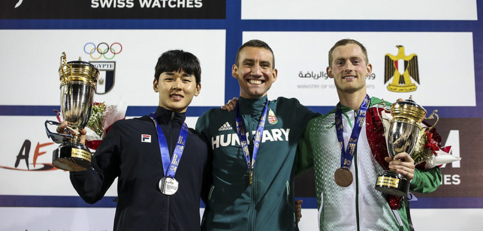 Lanigan-O'Keeffe wins bronze in men's final at Pentathlon World Cup Cairo