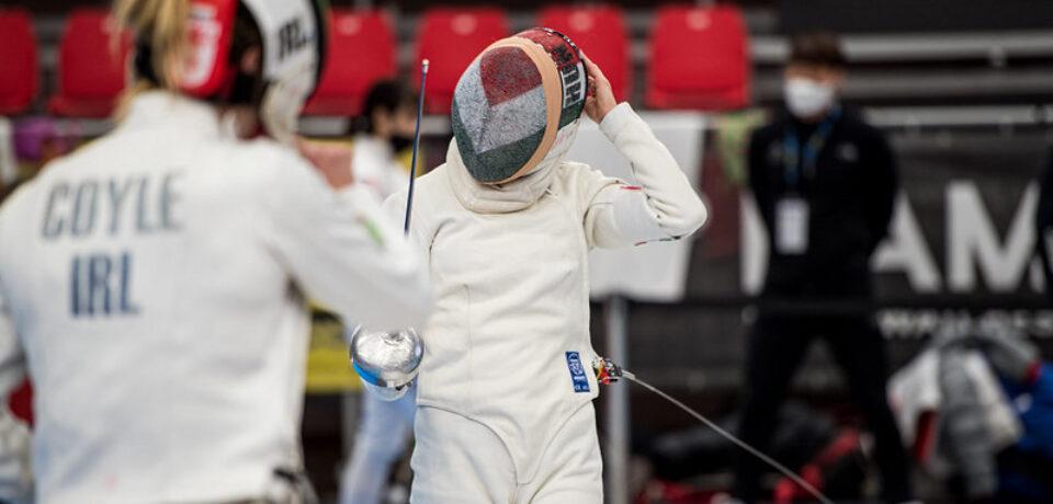 Natalya Coyle fences her way into top 10 at UIPM 2021 Pentathlon World Cup Final